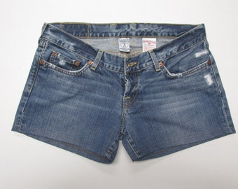 Lucky Brand Distressed Denim Shorts- Size 8