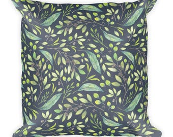 Greenery Pillow 18x18