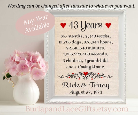 35th Weding Aniversary Gift 01 - 35th Weding Aniversary Gift