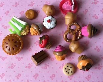 Food monochon charms kawaii decoden decorations!