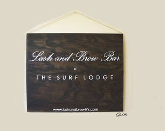 Custom Business Sign, Custom Hanging Sign, Business Sign, Business Signs, Office Sign, Custom Sign, Shop Sign, Store Sign, Wooden Store Sign