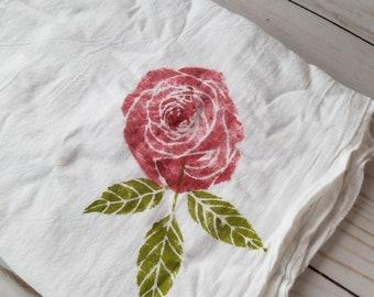 Floral~ Flour Sack ~Kitchen Towel ~ Tea Towel