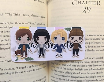 Magical Beasts Magnetic Bookmarks