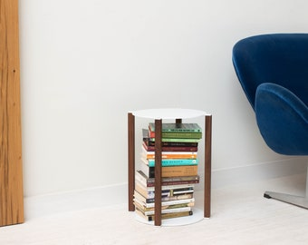 Bi-stander Side Table - Minimal Modern End Table