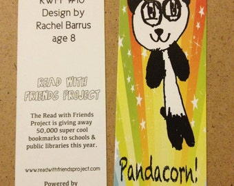 Read With Friends 50 Bulk Book marks To Give Away at Your Public LIbrary or School Library