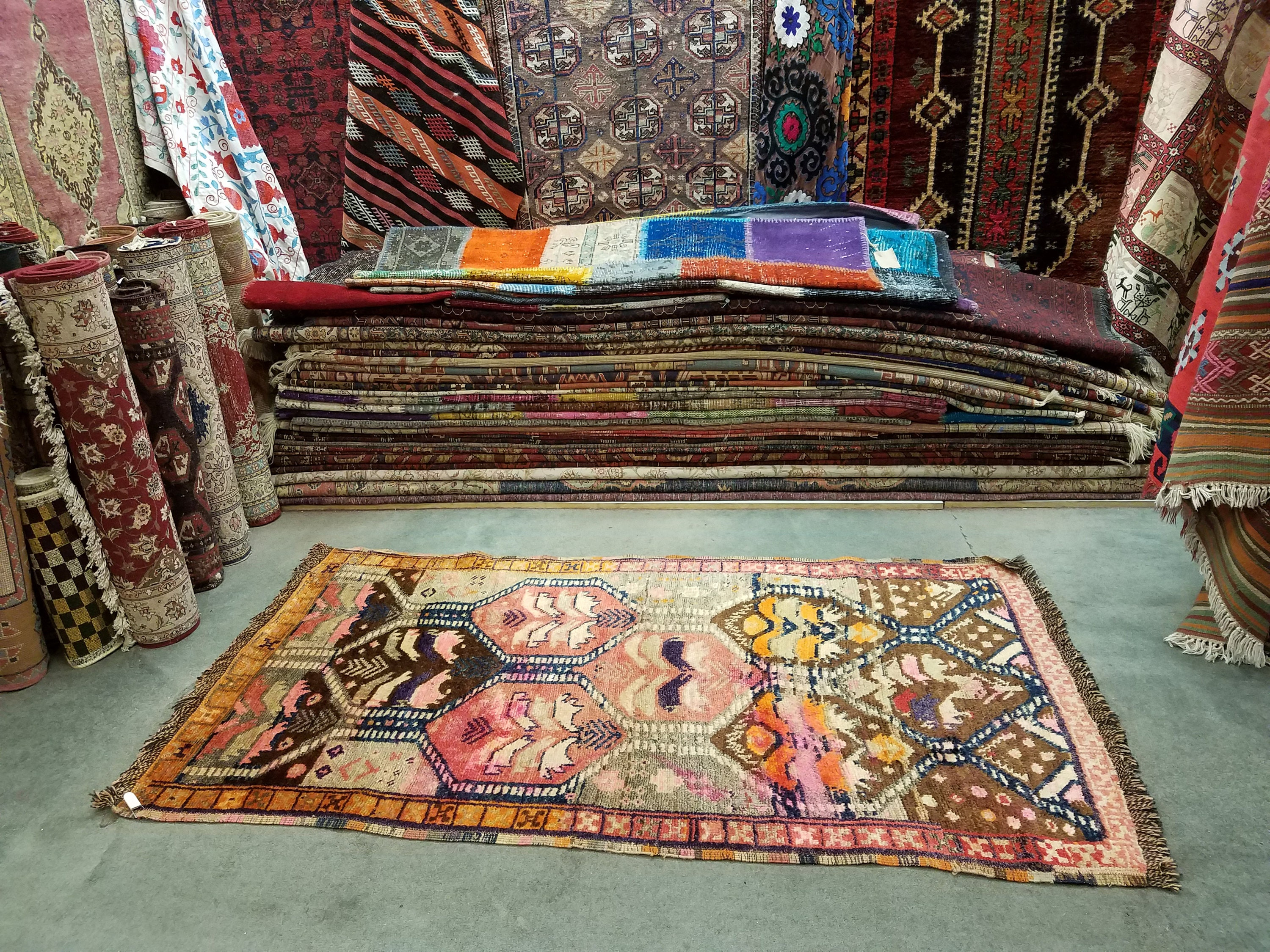 product vintage free monaco distressed safavieh today multi x rug overstock shipping bohemian colored home garden