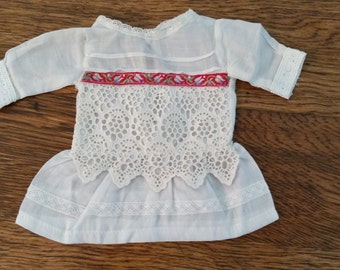 """Sweet Cotton Dress for Bluette or 10-11"""" Dolls"""