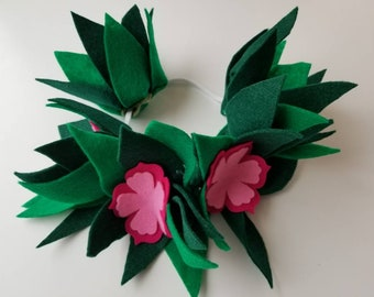 Moana flower crown