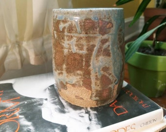 A Small Green Seagrass Vase. Wheel thrown pottery. Handmade ceramics. With love in Baltimore.