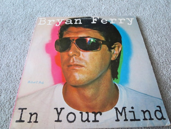 David Jones Personal Collection Record Album - Bryan Ferry - In Your Mind