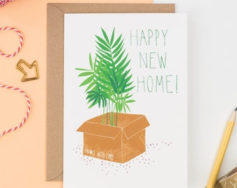 Happy New Home! Greetings Card