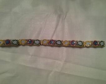 Micro Mosaic Italian Bracelet