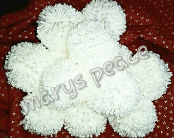 Texas indoor snow ball fight. Play. Fun. Game. Kids teens and adults. Unique. 3 inch pompom. Craft supply. Come play with me. White. Acrylic