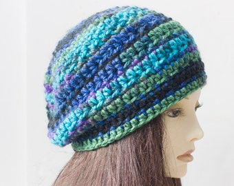 Hat and Infinity Scarf Crochet Pattern, Instant Download, Two PDF Patterns,  Hat Pattern. Cowl Pattern