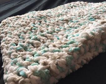 Small Fleece Baby Blanket.
