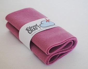 100 Percent Pure Wool Felt Roll - 12x90cm - Vieille Rose