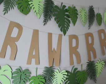 RAWRRR Banner Custom Colors