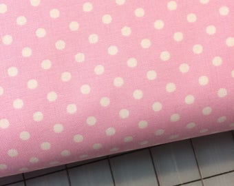 HALF YARD cut of Tanya Whelan - Delilah - Dots in Pink TW43