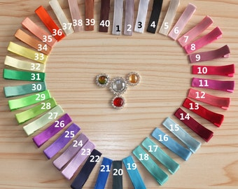 Set of 40-120 pcs, Partially Lined clips,Grosgrain ribbon wrapped clips,Hair barrette Hairpins Baby Clips  DIY hair bows supplies