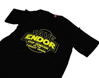 Star Wars Endor Tshirt Ewoks
