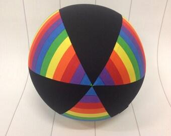 Balloon Ball Fabric, Balloon Ball Cover, Portable Ball, Travel Ball, Inflatable, Sensory, Special Needs, Rainbow, Kids, Dogs, Eumundi Kids