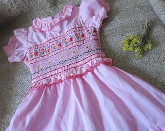 Soviet kids Dress Dress kids vintage Summer dress kids Kids Vintage Clothing Cute baby clothes Kids cotton dress Kids cotton dress
