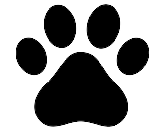 Paw Print Decal Paw Print Sticker Outdoor Vinyl Dog Paw Printr Cat Paw Print Family Pet Memorial Pet Gift Dog Gift Cat Gift Dog Mom  D1007