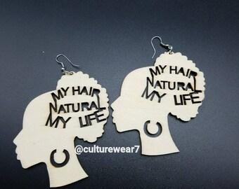 My Hair Natural Earrings