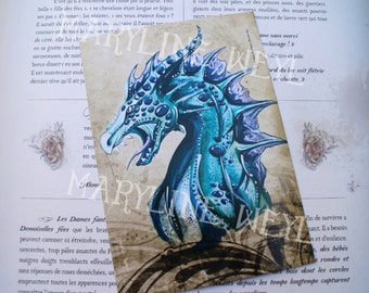 card mailing blue dragon
