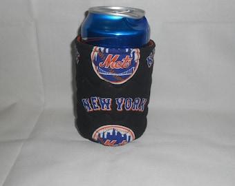 New York Mets Soda or Beer Can Cooler