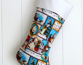 Christmas Stocking / Dogs & Cats / Item 22