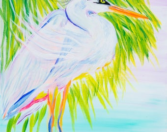 The Floridian - Colorful Abstract Art - Paper Print