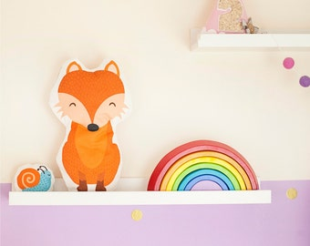 Fox soft toy Sewing Kit and cute mini toy