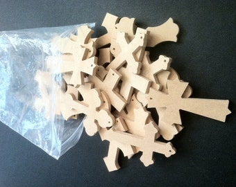"Bag of Crosses, 100 2 1/2"" x 4"", We pick the style and you save, Free shipping  BOC020425-100"