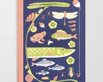LAKELIFE, pêche, carnet Journal