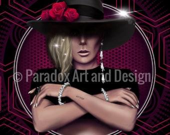 Lady Gaga - Art Print