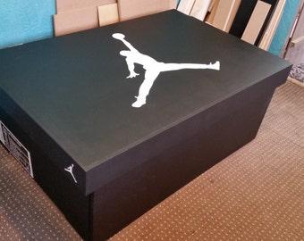 XL TRAINER / SNEAKER Storage Box   Nike Air Jordan (holds 16no Pairs),