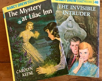 Nancy Drew The Mystery at Lilac Inn and The Invisible Intruder