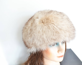 Norwegian Fox fur hat