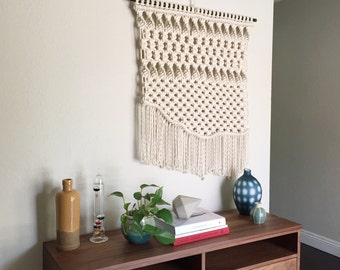 Macrame Patterns/Macrame Pattern/ Macrame Wall Hanging Pattern/Wall Hanging Pattern/DIY/Name: Large Uneven Twist