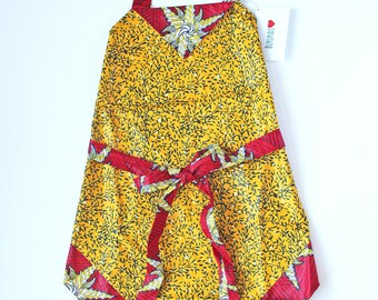 Handmade Adult Apron One-of-a-kind made in the Heart of Africa.  Buy an apron - Change a life!