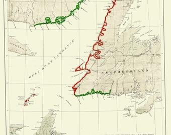 North Atlantic Fisheries Map