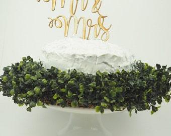 Mr & Mrs Cake Topper, Mr and Mr Cake Topper, Mrs and Mrs Cake Topper