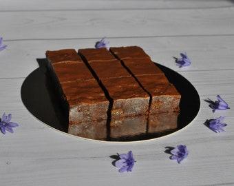 Tiffin slices, Chocolate tiffin, Milk chocolate, Wedding favours, chocolate treat, birthday present, edible gift