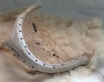 Deer Antler Dreamcatcher ( Fly away )