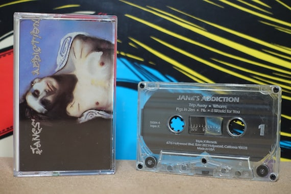 Janes Addiction by Janes Addiction Vintage Cassette Tape