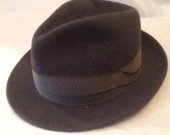 William Tell Style 'DER TELL-HUT' Felt Trilby Hat