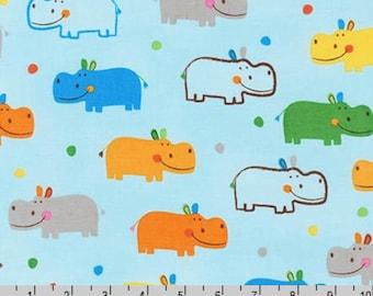 Jump Into Fun - Bermuda Hippos by Amy Schimler-Safford from Robert Kaufman