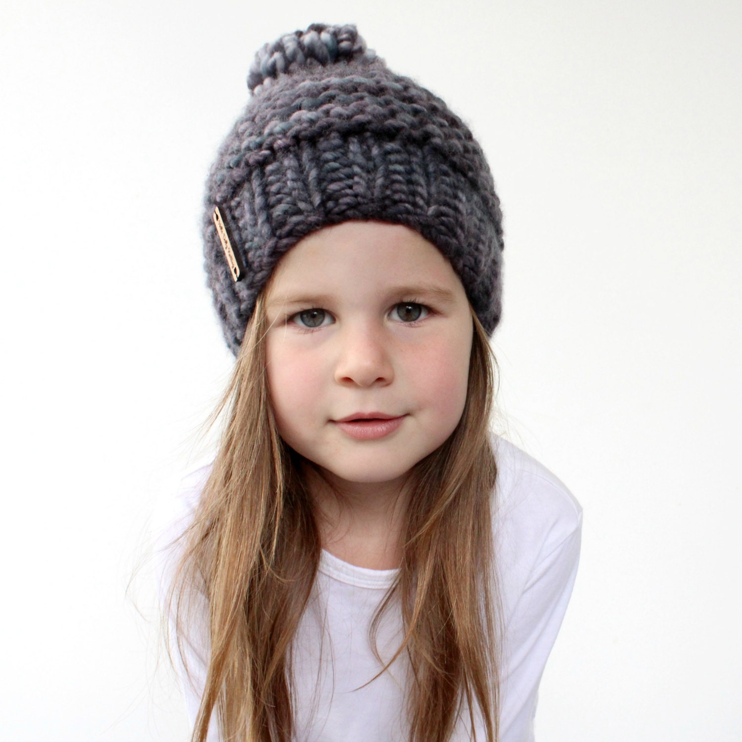 toddler knit hat with bulky yarn sale