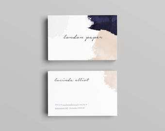Elliot Business Card Template